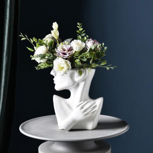 Head Plant Pot European Style Vase