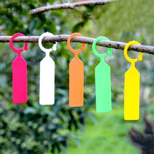 Plastic Plant Tags Hanging Labels (50 Pcs)