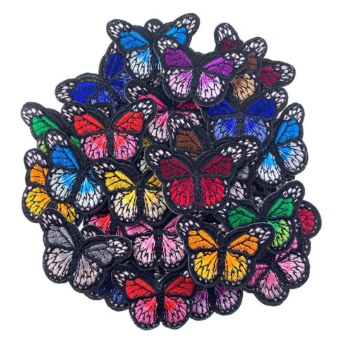 Butterfly Embroidery Patches (5 pcs)