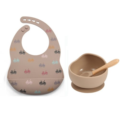 Silicone Baby Dining Set (3 Pcs)