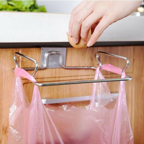 Portable Trash Bag Holder Hanging Rack