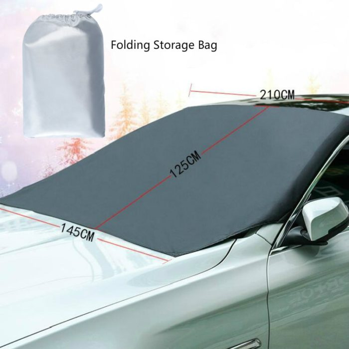 Car Windshield Cover Magnetic Sun Shade
