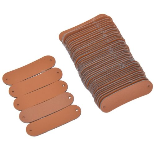 Blank Leather Labels DIY Tags (50pcs)