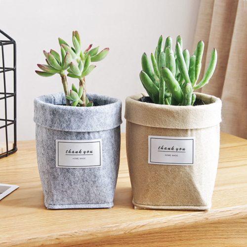 Eco-Friendly Felt Plant Pot