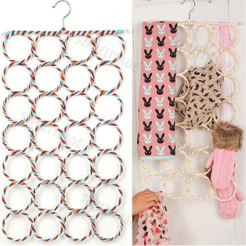 28-Hole Scarf Holder and Hanger