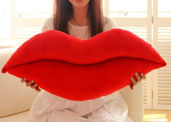Lips Pillow Decorative Home Decor