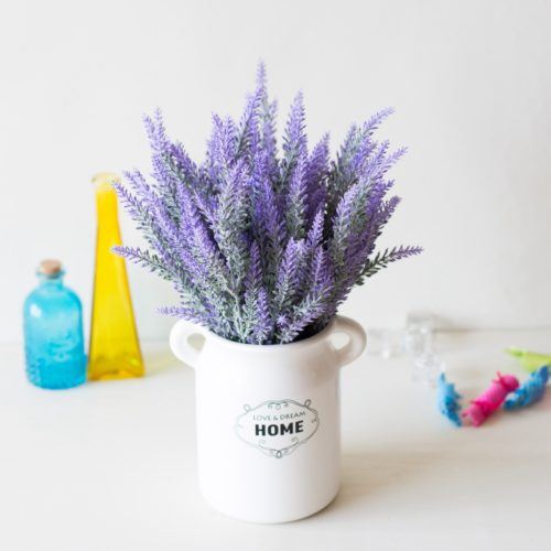 Artificial Lavender Flowers For Home Decor