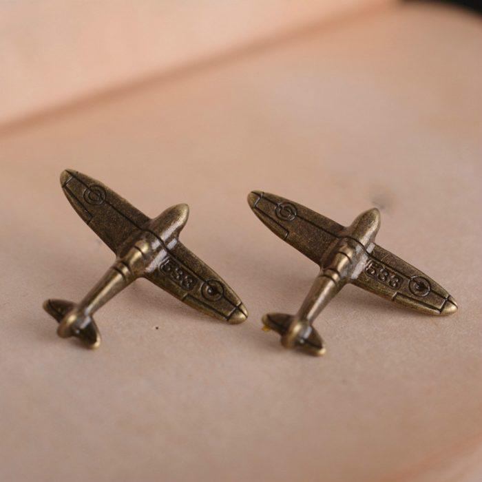 Airplane Pin Metal Brooch