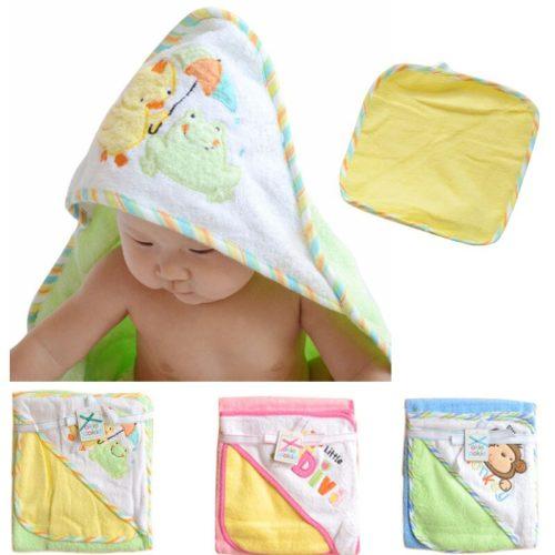 Baby Towel and Washcloth Set
