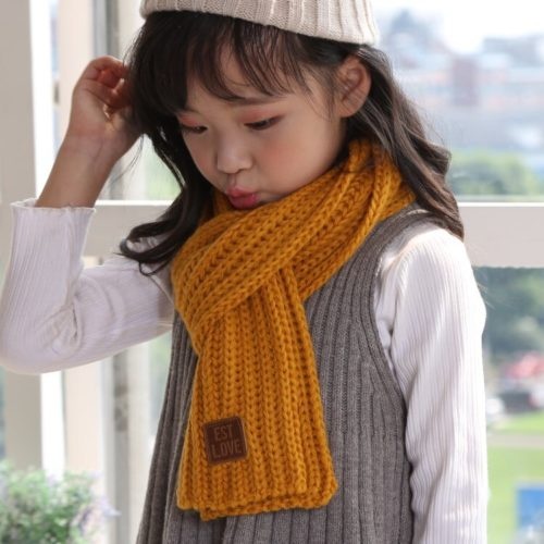 Knitted Kids Winter Scarf