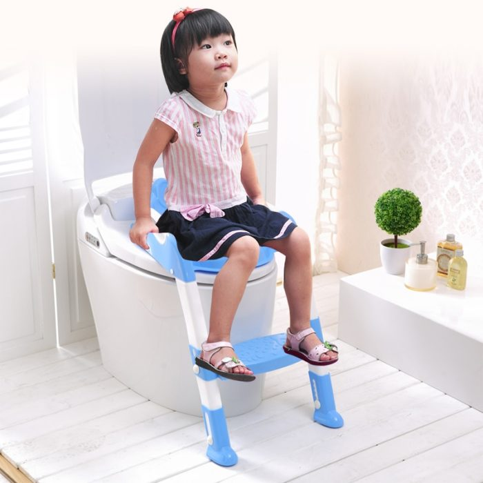 Kids Portable Potty Training Seat with Ladder