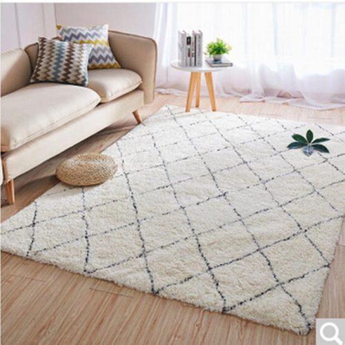 Geometric Design Carpet Home Decor