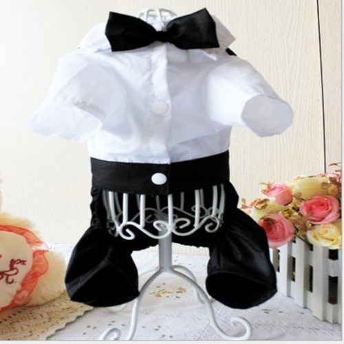 Dog Wedding Suit Tuxedo Costume