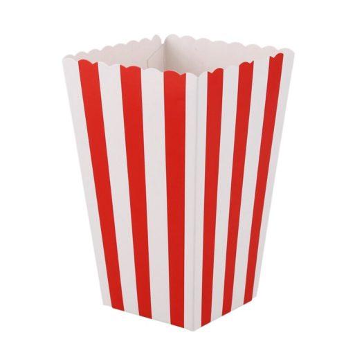 Paper Small Popcorn Boxes (12pcs)