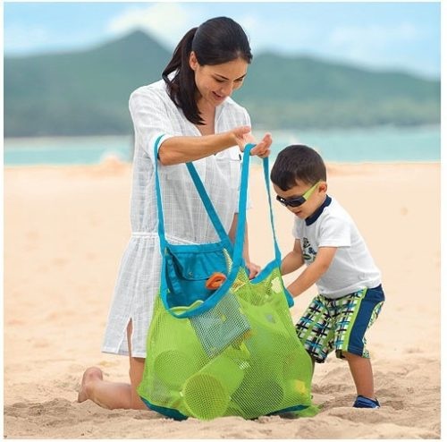Mesh Bag for Beach Toys