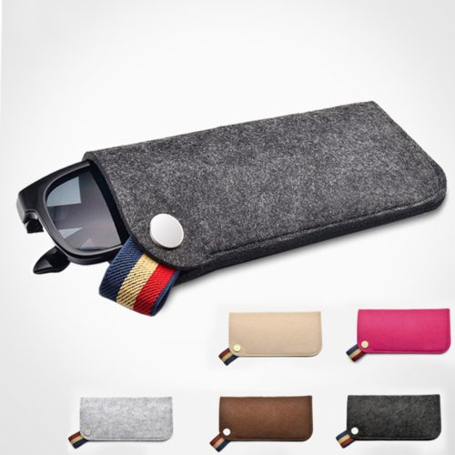 Soft Sunglass Sleeve Pouch