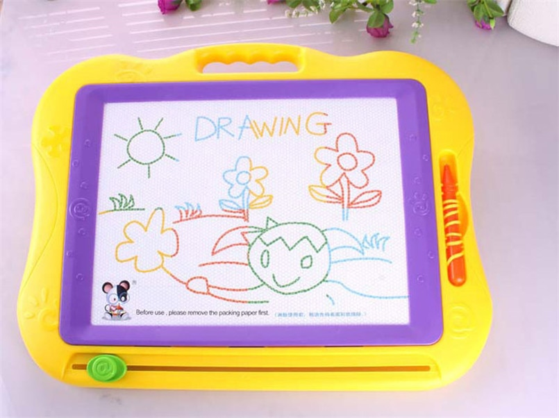 44*38cm Magnetic Drawing Board Toys Large Magic Painting With Magic Pen Toy Early Educational Kindergarten Reusable Graffiti Toy