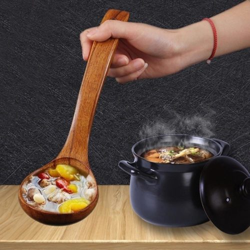 Wooden Ladle Spoon for Soup