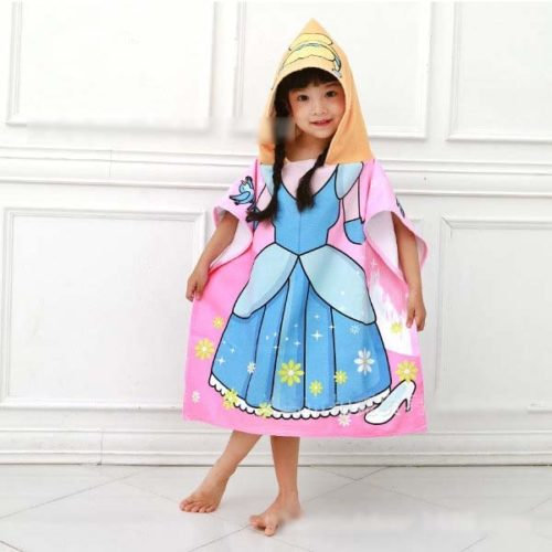 Soft Microfiber Kids Hooded Towel