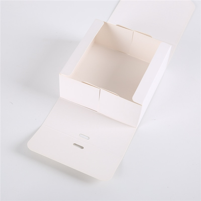 StoBag 5pcs White/Kraft/Black Gift Box Event & Party Supplies Packaging Wedding Birthday Hnadmade Candy Chocolate