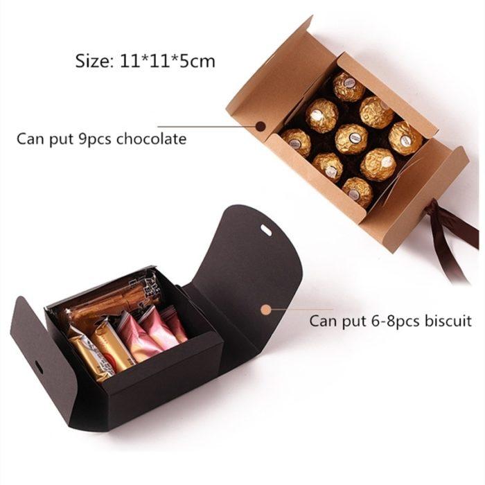 Gift Box with Ribbon (5pcs)