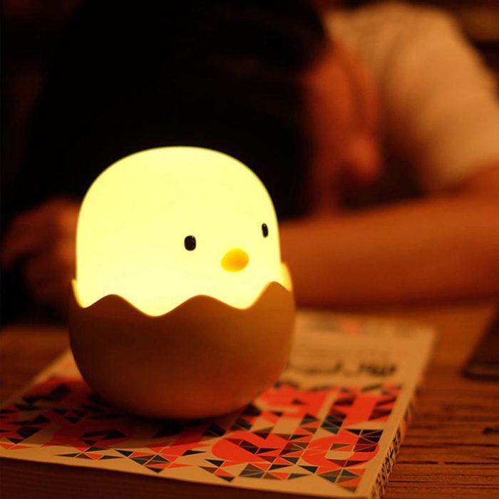 Baby Chick Egg Light Night Lamp