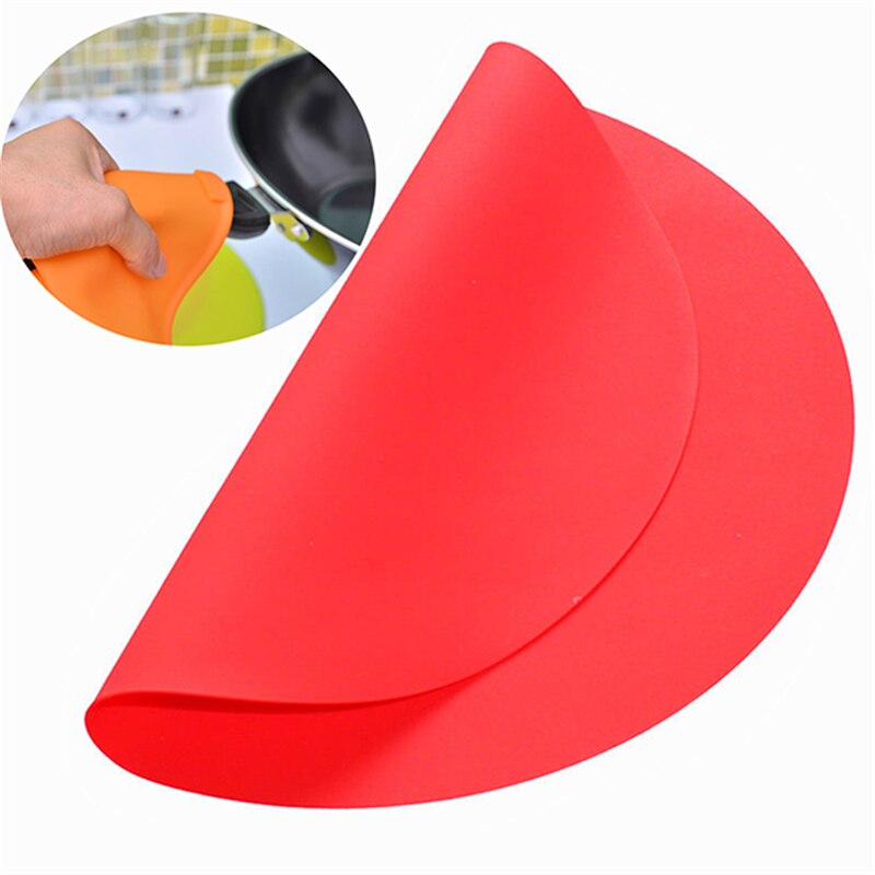 Aomily Round Silicone Baking Mat 30cm Oven Cookie Pizza Sheet Microwave Cooking Pastry Tray Heat Resistance Mat Kitchen Bakeware