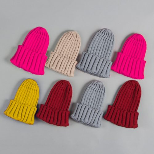 Beanie Hat For Kids Knitted Bonnet