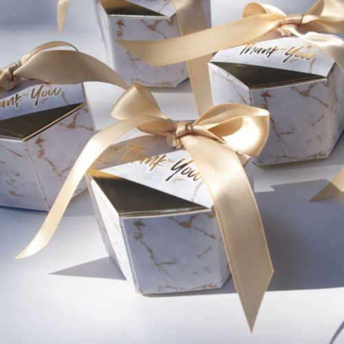 Marble Gift Box Creative Party Favor