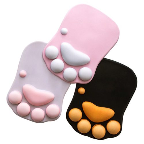 Wrist Rest Support Cat Paw Mousepad