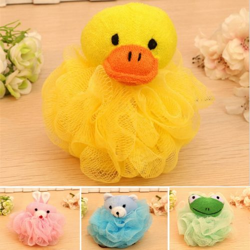 Baby Loofah Cute Animal Scrubbers