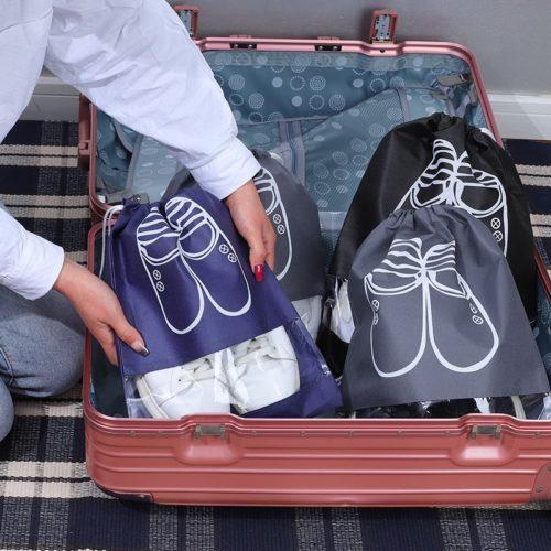 Drawstring Shoe Dust Bags (5pcs)