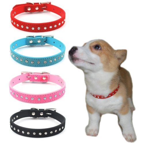 Bling Dog Collar With Rhinestones
