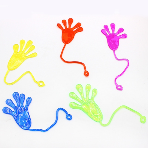 Stretchy Sticky Hand Toys (10pcs)