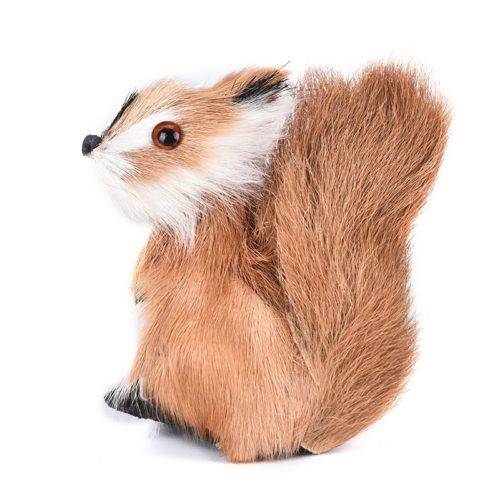 Simulation Fake Squirrel Plush Decor