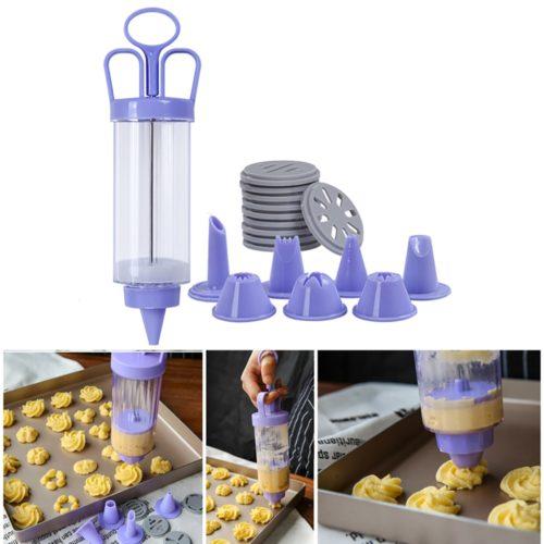 Baking Syringe Piping Gun Set