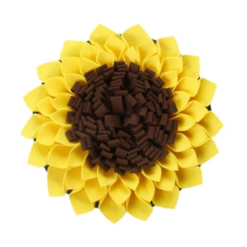 Snuffle Mat For Dogs Sunflower Design