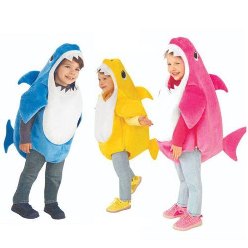 Baby Shark Costume Halloween Suit