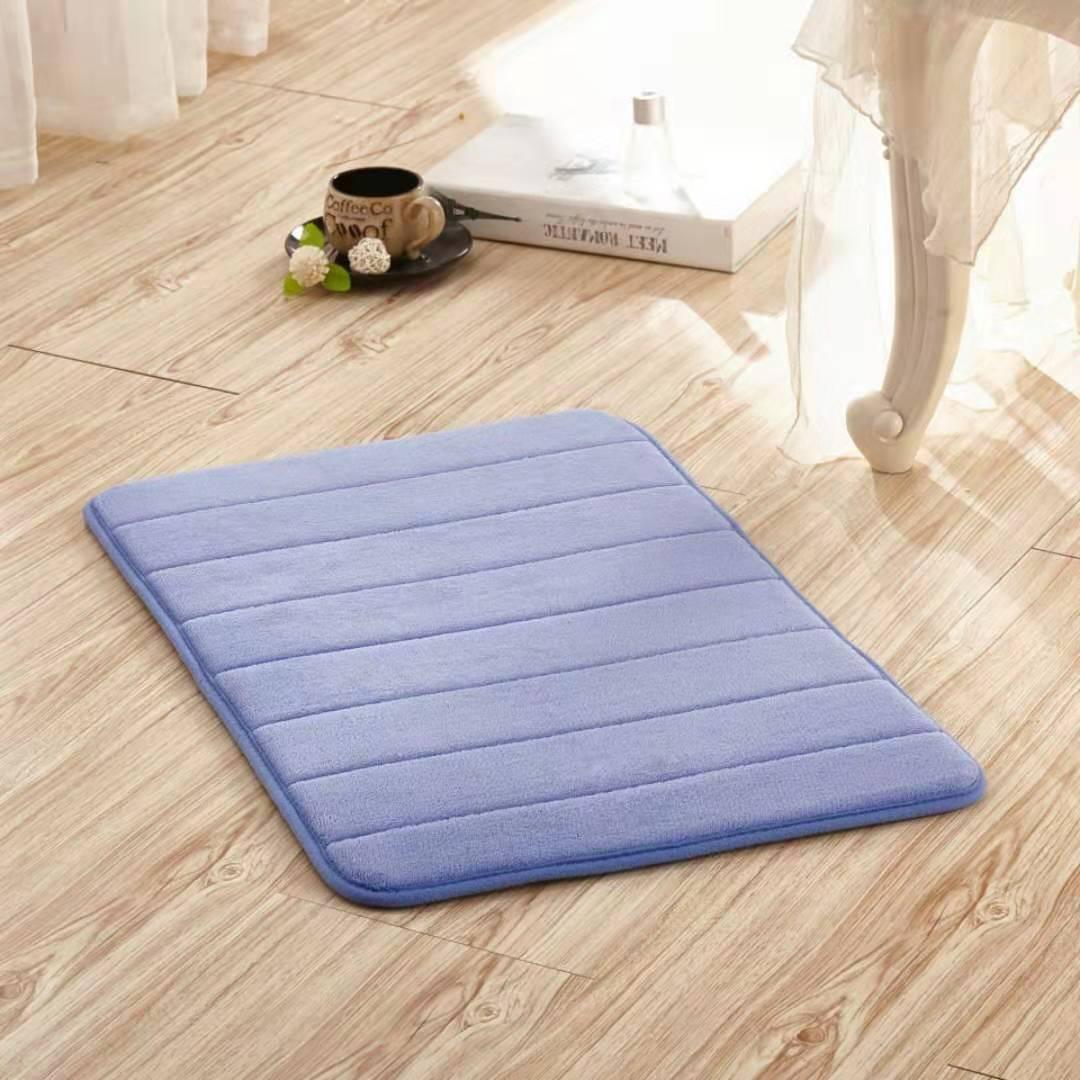 Bath Mat Bathroom Carpet Water Absorption Rug Shaggy Memory Foam Bathroom Mat kitchen Floor bathroom rugs and mat set shower mat
