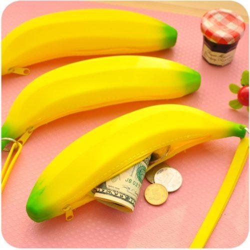 Creative Design Banana Pencil Case