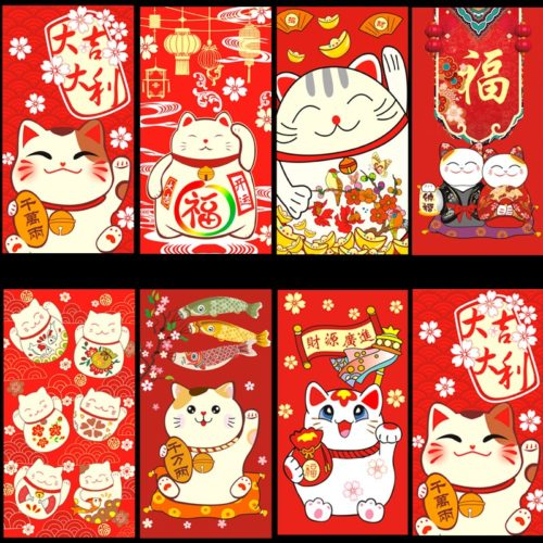 Paper Lucky Red Envelopes (30pcs)