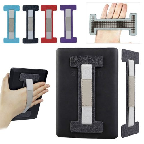 Self-Adhesive Leather Tablet Hand Holder