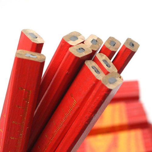 Woodworking Scaled Flat Pencils (5pcs)