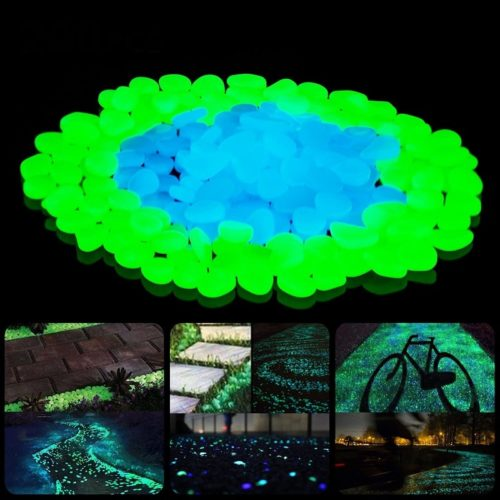 Glow in Dark Pebbles (500 pcs)