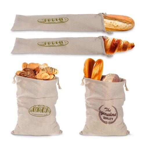 Reusable Linen Bread Bag