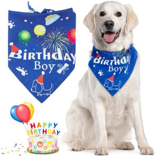 Dog Birthday Bandana Pet Bib