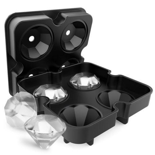 Diamond Shape Ice Maker 4-Grid Tray