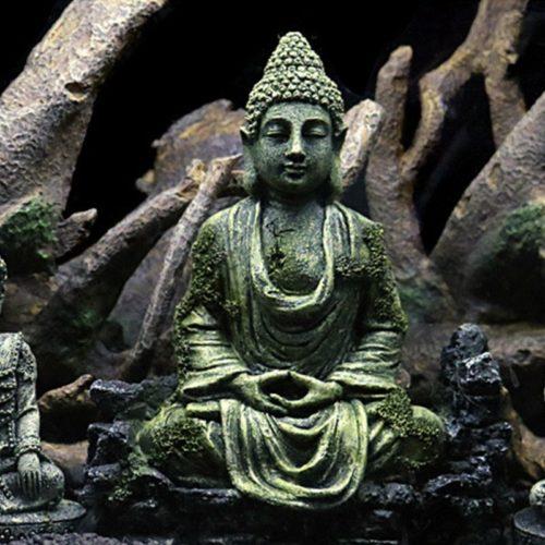 Resin Underwater Buddha Aquarium Decor