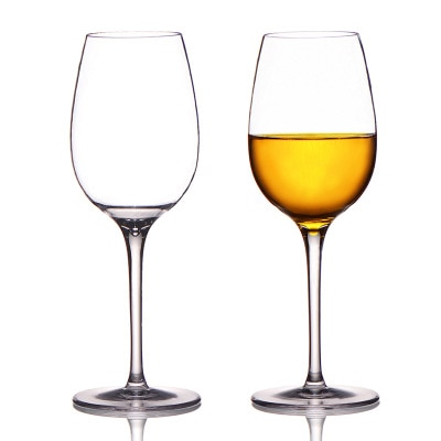 Transparent Plastic Wine Glass