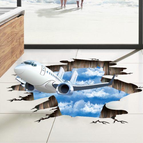 Self-Adhesive PVC 3D Floor Decal